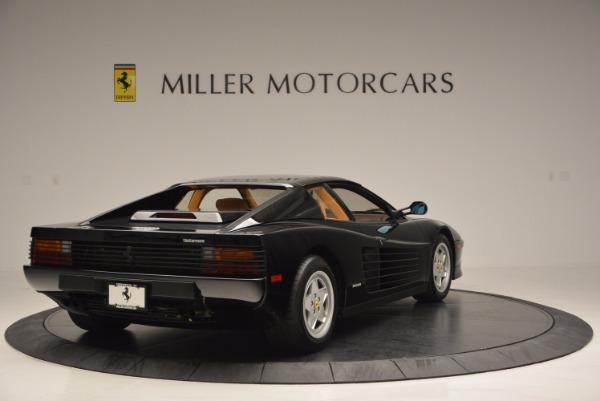 Used 1989 Ferrari Testarossa for sale Sold at Bugatti of Greenwich in Greenwich CT 06830 7