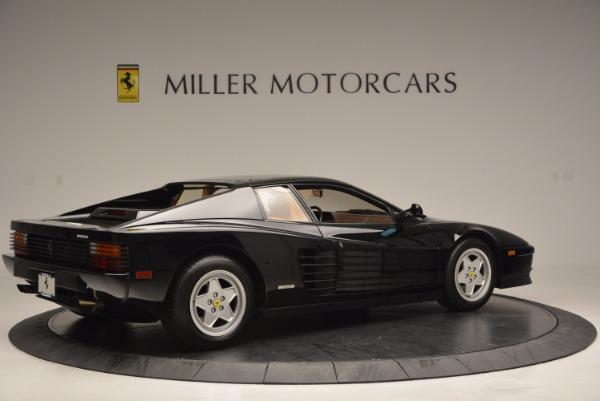 Used 1989 Ferrari Testarossa for sale Sold at Bugatti of Greenwich in Greenwich CT 06830 8