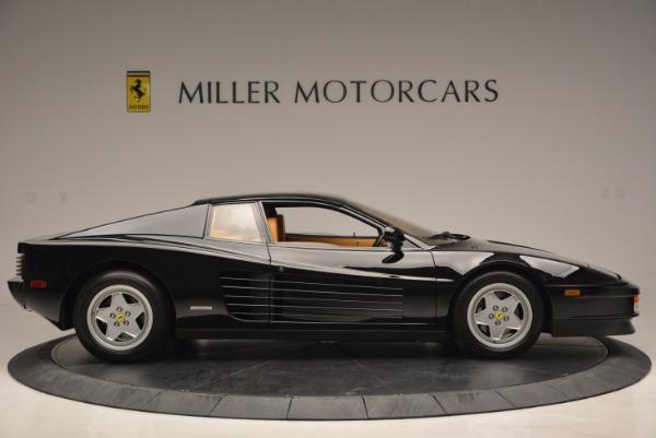 Used 1989 Ferrari Testarossa for sale Sold at Bugatti of Greenwich in Greenwich CT 06830 9
