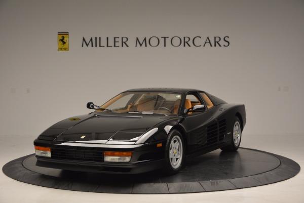 Used 1989 Ferrari Testarossa for sale Sold at Bugatti of Greenwich in Greenwich CT 06830 1