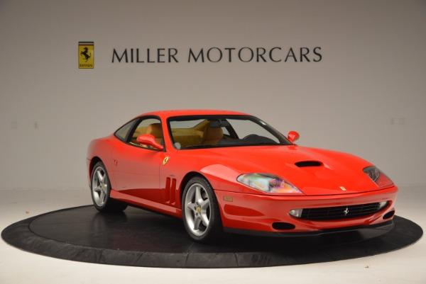 Used 2000 Ferrari 550 Maranello for sale Sold at Bugatti of Greenwich in Greenwich CT 06830 11