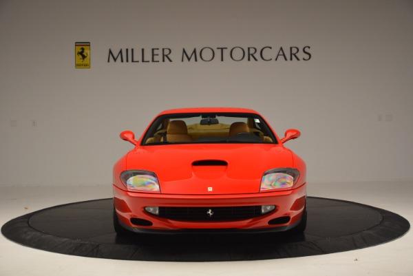 Used 2000 Ferrari 550 Maranello for sale Sold at Bugatti of Greenwich in Greenwich CT 06830 12