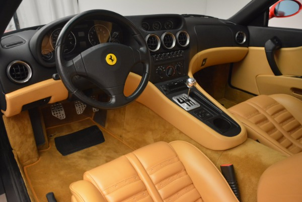 Used 2000 Ferrari 550 Maranello for sale Sold at Bugatti of Greenwich in Greenwich CT 06830 13