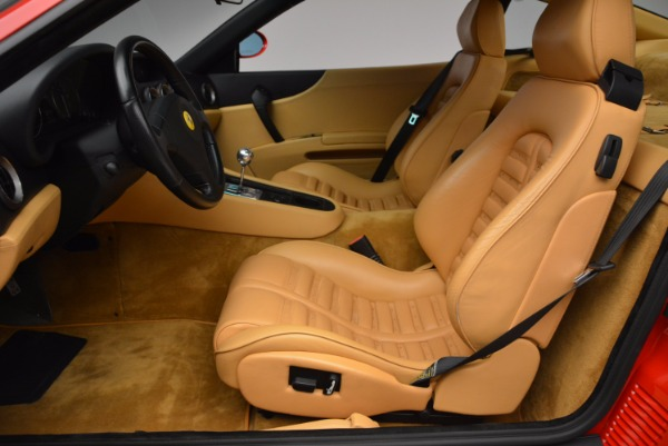 Used 2000 Ferrari 550 Maranello for sale Sold at Bugatti of Greenwich in Greenwich CT 06830 14
