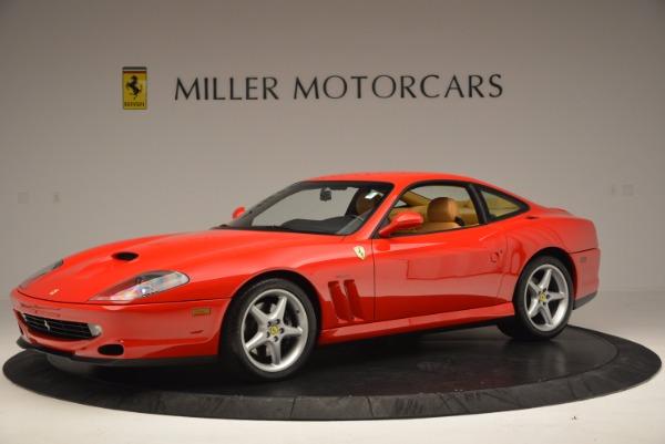 Used 2000 Ferrari 550 Maranello for sale Sold at Bugatti of Greenwich in Greenwich CT 06830 2