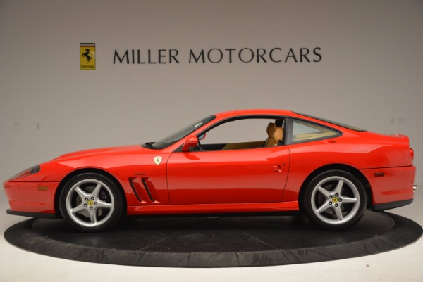Used 2000 Ferrari 550 Maranello for sale Sold at Bugatti of Greenwich in Greenwich CT 06830 3