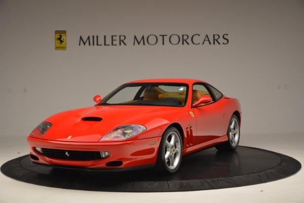 Used 2000 Ferrari 550 Maranello for sale Sold at Bugatti of Greenwich in Greenwich CT 06830 1