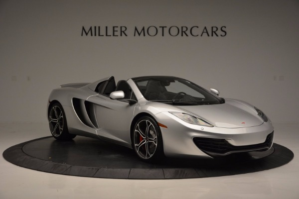 Used 2014 McLaren MP4-12C Spider for sale Sold at Bugatti of Greenwich in Greenwich CT 06830 10