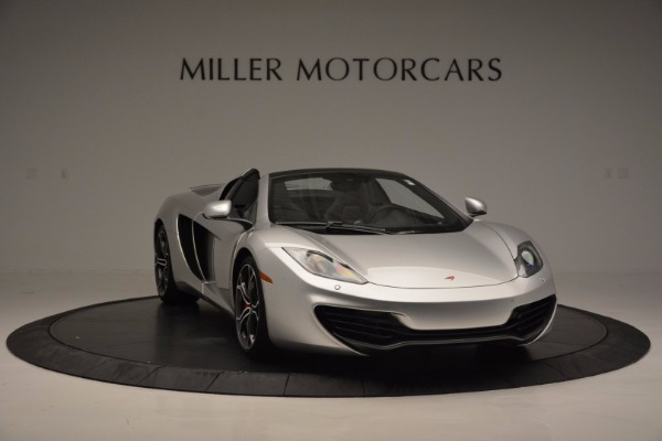 Used 2014 McLaren MP4-12C Spider for sale Sold at Bugatti of Greenwich in Greenwich CT 06830 11