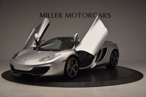 Used 2014 McLaren MP4-12C Spider for sale Sold at Bugatti of Greenwich in Greenwich CT 06830 14