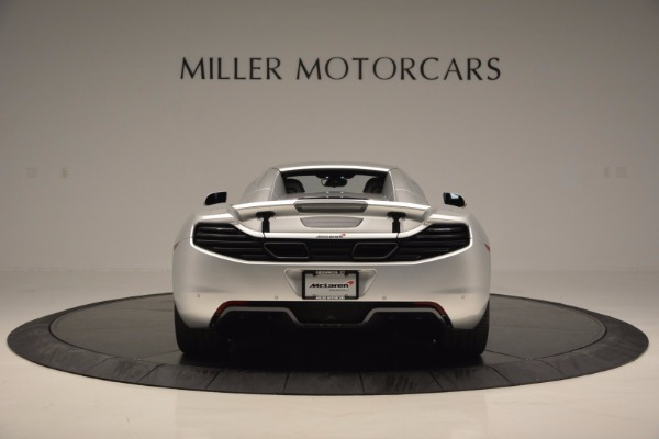 Used 2014 McLaren MP4-12C Spider for sale Sold at Bugatti of Greenwich in Greenwich CT 06830 18
