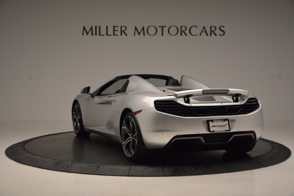 Used 2014 McLaren MP4-12C Spider for sale Sold at Bugatti of Greenwich in Greenwich CT 06830 5