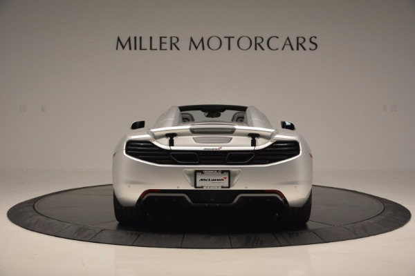 Used 2014 McLaren MP4-12C Spider for sale Sold at Bugatti of Greenwich in Greenwich CT 06830 6