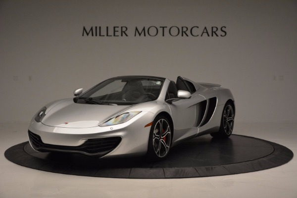 Used 2014 McLaren MP4-12C Spider for sale Sold at Bugatti of Greenwich in Greenwich CT 06830 1