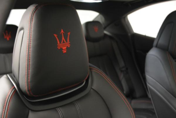 New 2017 Maserati Ghibli S Q4 for sale Sold at Bugatti of Greenwich in Greenwich CT 06830 24