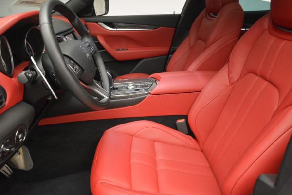 Used 2017 Maserati Levante Ex Service Loaner for sale Sold at Bugatti of Greenwich in Greenwich CT 06830 14