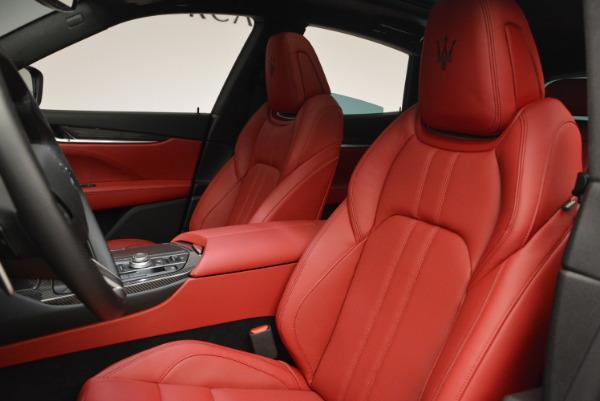 Used 2017 Maserati Levante Ex Service Loaner for sale Sold at Bugatti of Greenwich in Greenwich CT 06830 15