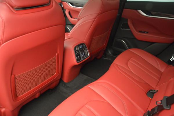 Used 2017 Maserati Levante Ex Service Loaner for sale Sold at Bugatti of Greenwich in Greenwich CT 06830 18