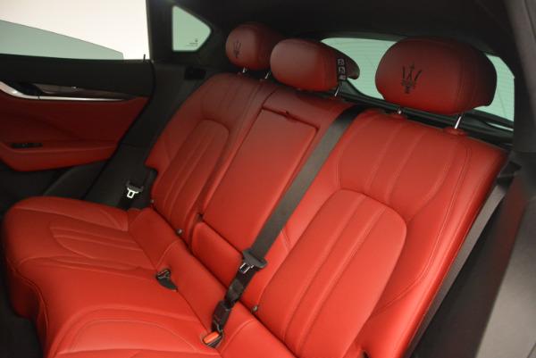 Used 2017 Maserati Levante Ex Service Loaner for sale Sold at Bugatti of Greenwich in Greenwich CT 06830 20