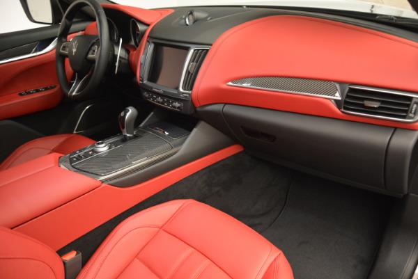 Used 2017 Maserati Levante Ex Service Loaner for sale Sold at Bugatti of Greenwich in Greenwich CT 06830 21