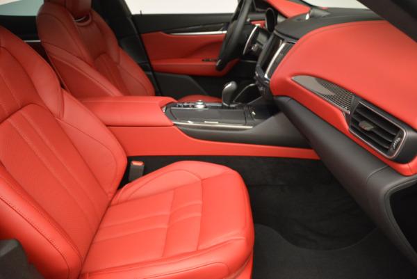Used 2017 Maserati Levante Ex Service Loaner for sale Sold at Bugatti of Greenwich in Greenwich CT 06830 22