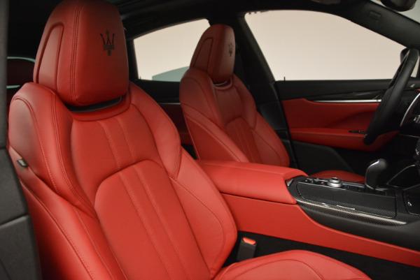 Used 2017 Maserati Levante Ex Service Loaner for sale Sold at Bugatti of Greenwich in Greenwich CT 06830 23