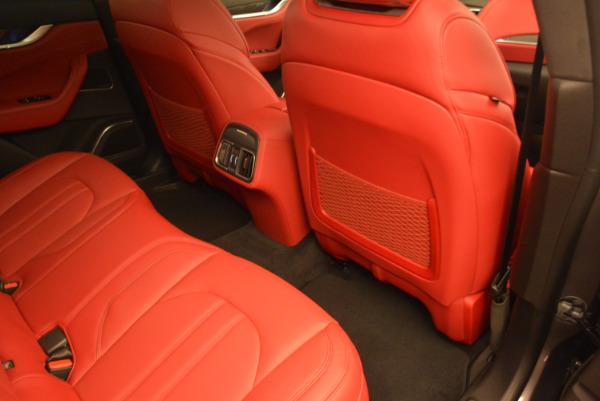 Used 2017 Maserati Levante Ex Service Loaner for sale Sold at Bugatti of Greenwich in Greenwich CT 06830 24