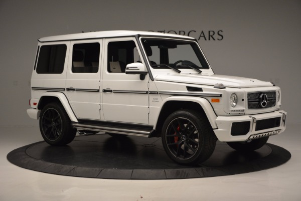 Used 2016 Mercedes Benz G-Class AMG G65 for sale Sold at Bugatti of Greenwich in Greenwich CT 06830 10