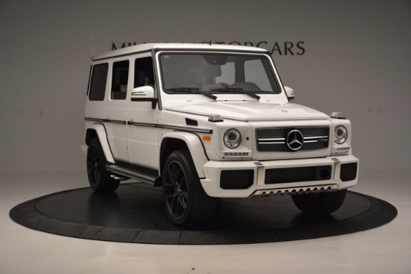 Used 2016 Mercedes Benz G-Class AMG G65 for sale Sold at Bugatti of Greenwich in Greenwich CT 06830 11