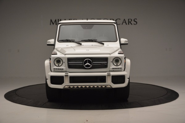 Used 2016 Mercedes Benz G-Class AMG G65 for sale Sold at Bugatti of Greenwich in Greenwich CT 06830 12
