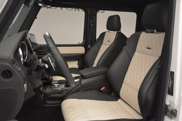 Used 2016 Mercedes Benz G-Class AMG G65 for sale Sold at Bugatti of Greenwich in Greenwich CT 06830 16