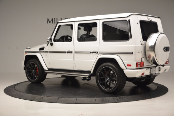 Used 2016 Mercedes Benz G-Class AMG G65 for sale Sold at Bugatti of Greenwich in Greenwich CT 06830 4