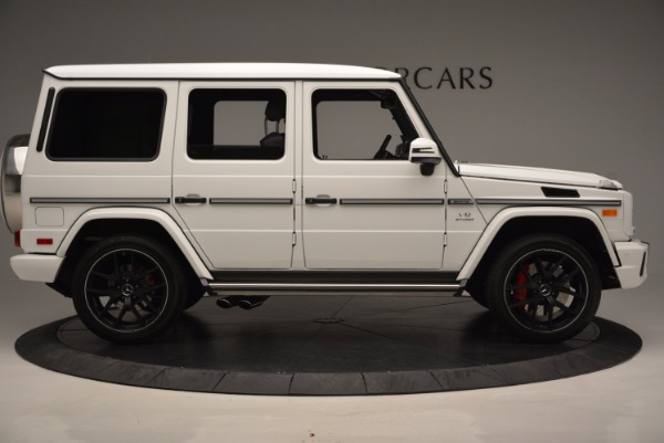Used 2016 Mercedes Benz G-Class AMG G65 for sale Sold at Bugatti of Greenwich in Greenwich CT 06830 9