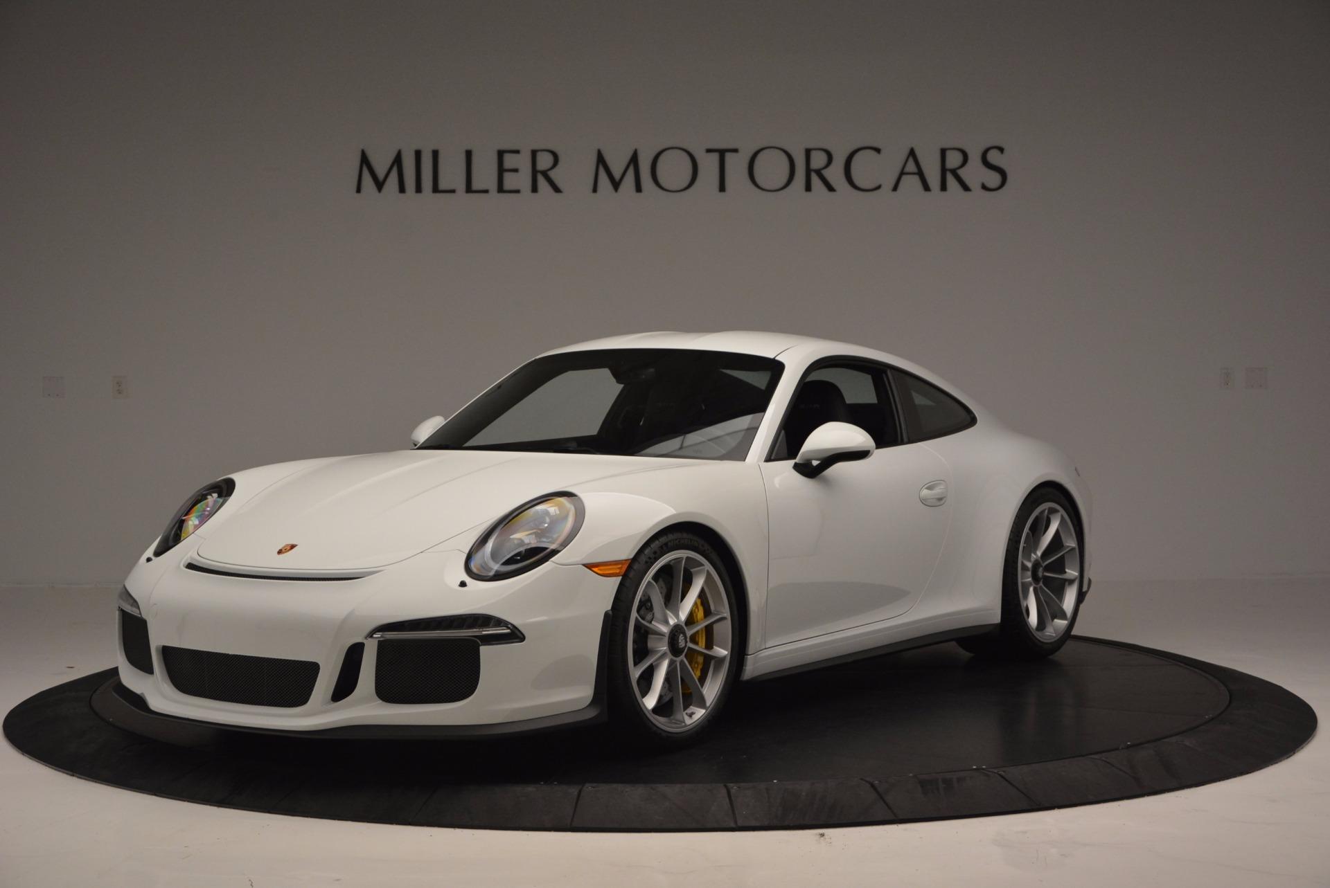 Used 2016 Porsche 911 R for sale Sold at Bugatti of Greenwich in Greenwich CT 06830 1