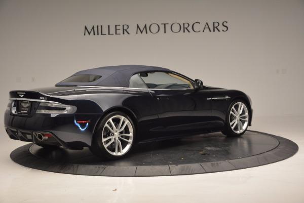 Used 2012 Aston Martin DBS Volante for sale Sold at Bugatti of Greenwich in Greenwich CT 06830 20