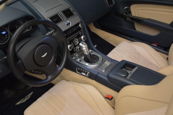 Used 2012 Aston Martin DBS Volante for sale Sold at Bugatti of Greenwich in Greenwich CT 06830 25