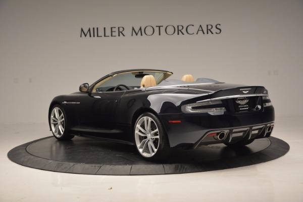 Used 2012 Aston Martin DBS Volante for sale Sold at Bugatti of Greenwich in Greenwich CT 06830 5