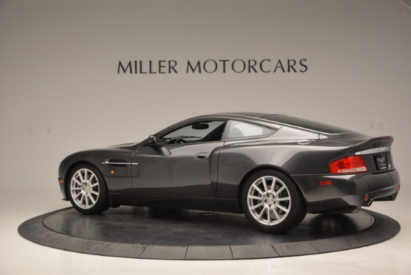 Used 2005 Aston Martin V12 Vanquish S for sale Sold at Bugatti of Greenwich in Greenwich CT 06830 4