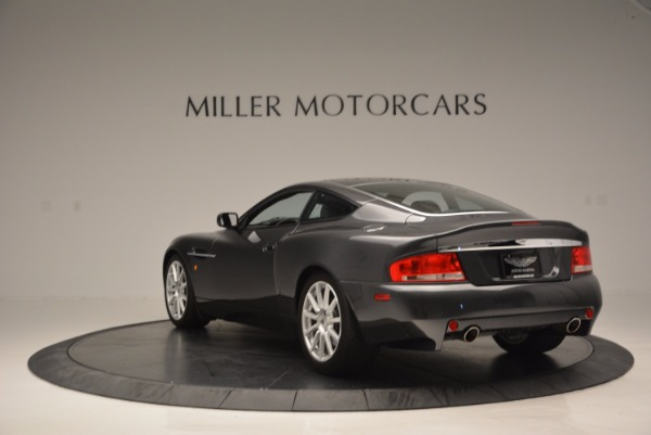 Used 2005 Aston Martin V12 Vanquish S for sale Sold at Bugatti of Greenwich in Greenwich CT 06830 5