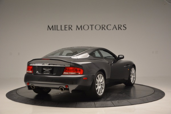 Used 2005 Aston Martin V12 Vanquish S for sale Sold at Bugatti of Greenwich in Greenwich CT 06830 7