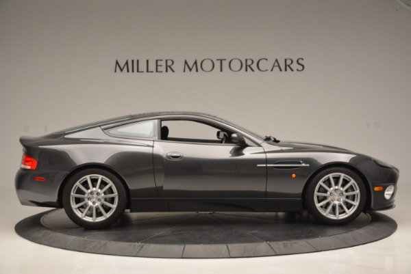 Used 2005 Aston Martin V12 Vanquish S for sale Sold at Bugatti of Greenwich in Greenwich CT 06830 9