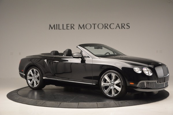 Used 2013 Bentley Continental GTC for sale Sold at Bugatti of Greenwich in Greenwich CT 06830 11