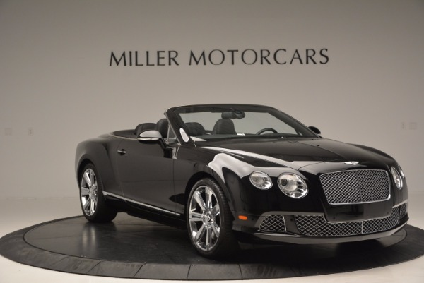 Used 2013 Bentley Continental GTC for sale Sold at Bugatti of Greenwich in Greenwich CT 06830 12