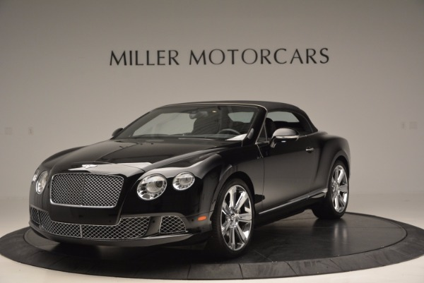 Used 2013 Bentley Continental GTC for sale Sold at Bugatti of Greenwich in Greenwich CT 06830 14