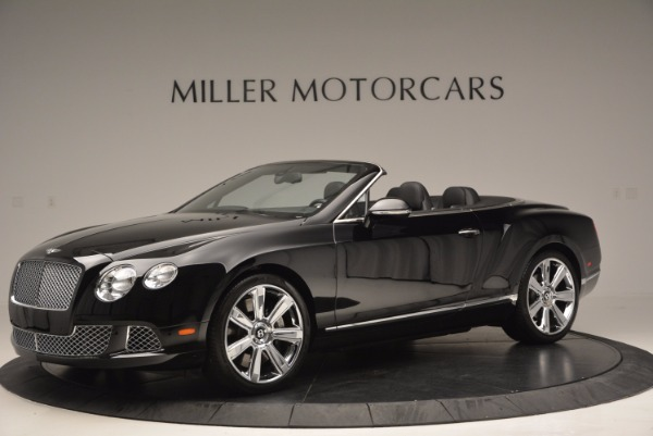 Used 2013 Bentley Continental GTC for sale Sold at Bugatti of Greenwich in Greenwich CT 06830 2