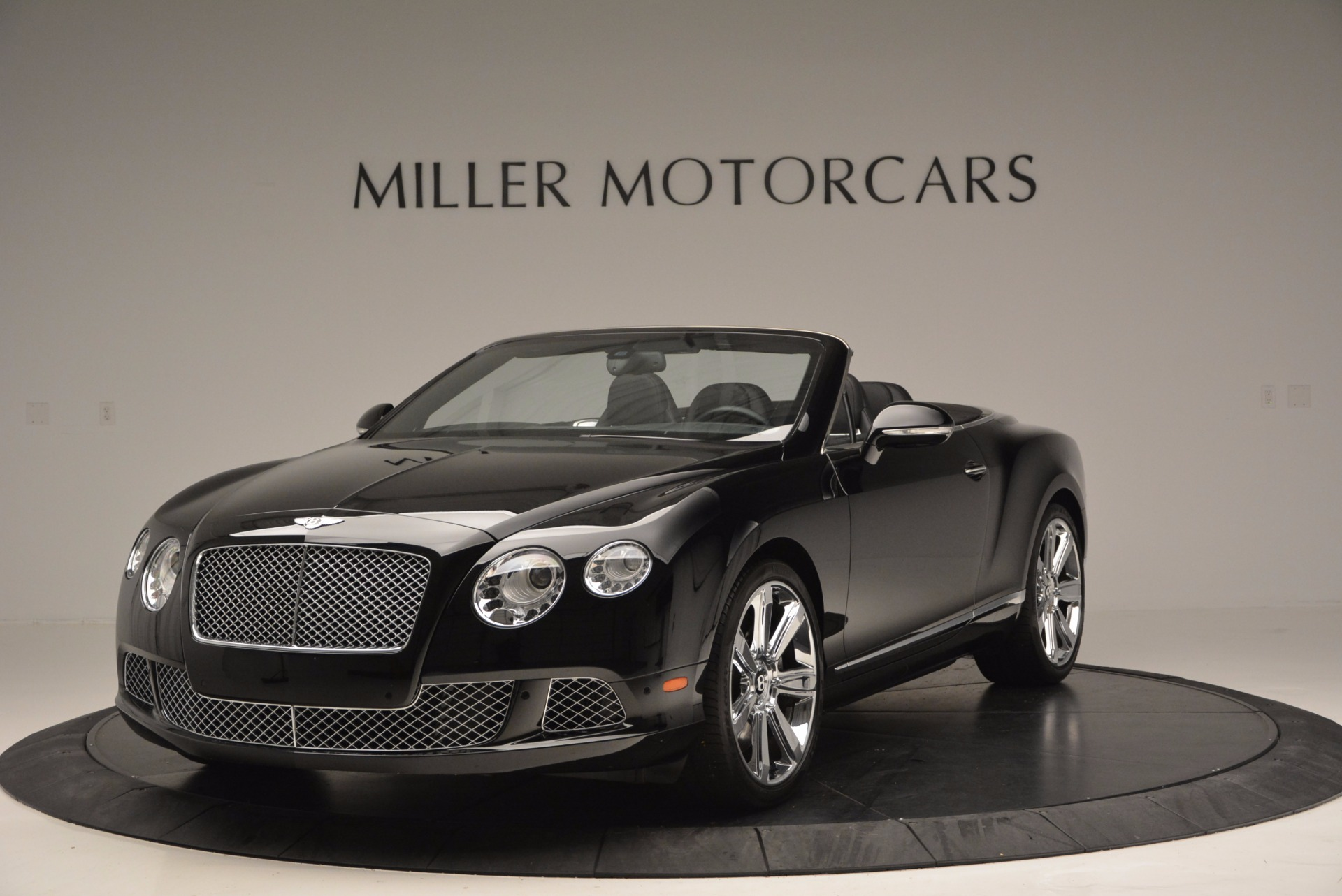 Used 2013 Bentley Continental GTC for sale Sold at Bugatti of Greenwich in Greenwich CT 06830 1