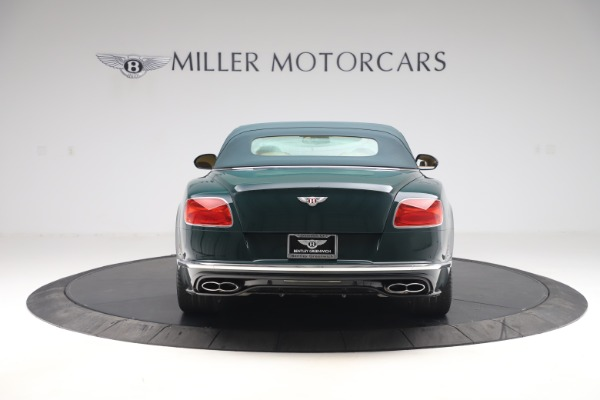 Used 2017 Bentley Continental GTC V8 S for sale Sold at Bugatti of Greenwich in Greenwich CT 06830 16
