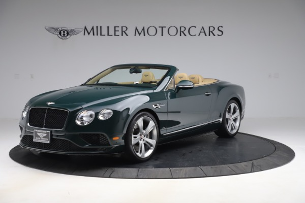 Used 2017 Bentley Continental GTC V8 S for sale Sold at Bugatti of Greenwich in Greenwich CT 06830 2