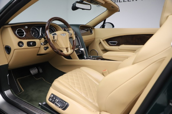Used 2017 Bentley Continental GTC V8 S for sale Sold at Bugatti of Greenwich in Greenwich CT 06830 25