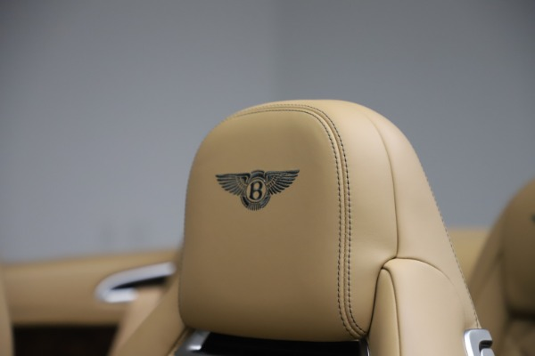 Used 2017 Bentley Continental GTC V8 S for sale Sold at Bugatti of Greenwich in Greenwich CT 06830 28